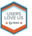 Users Love Us Badge white1